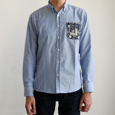 Kemeja button down