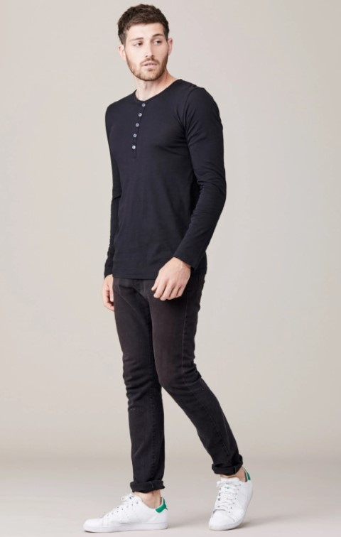 pakaian casual long sleeve
