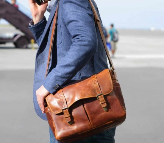 leather bag style smart
