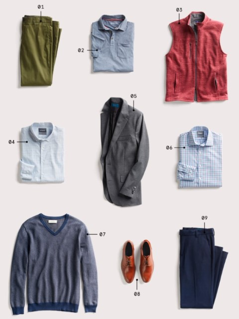 rumus smart casual outfit
